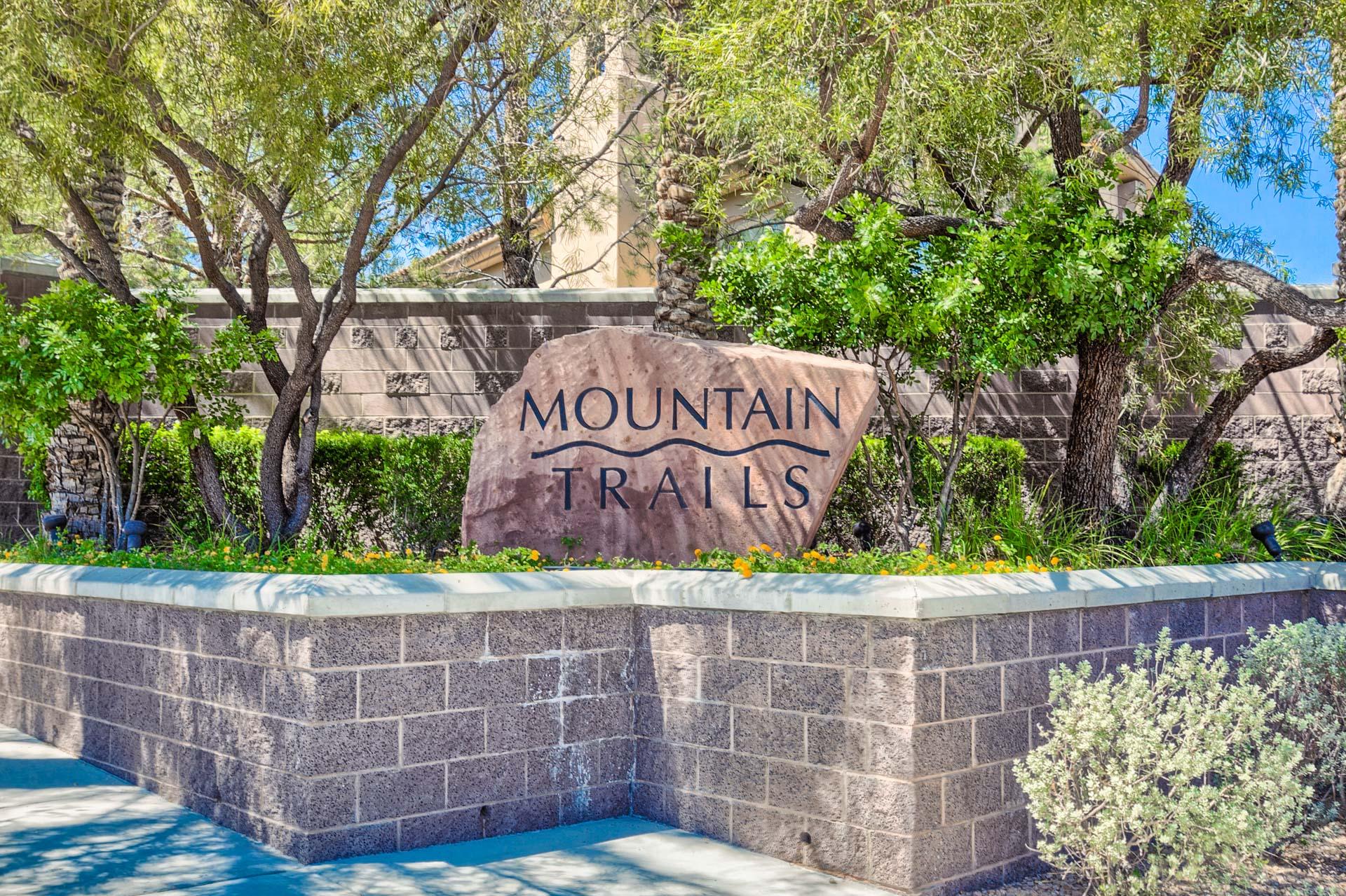 mountain trails las vegas homes for sale
