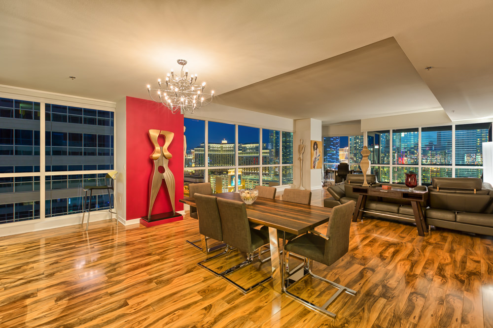 Panorama towers las vegas unit 2012 for Hardwood floors las vegas