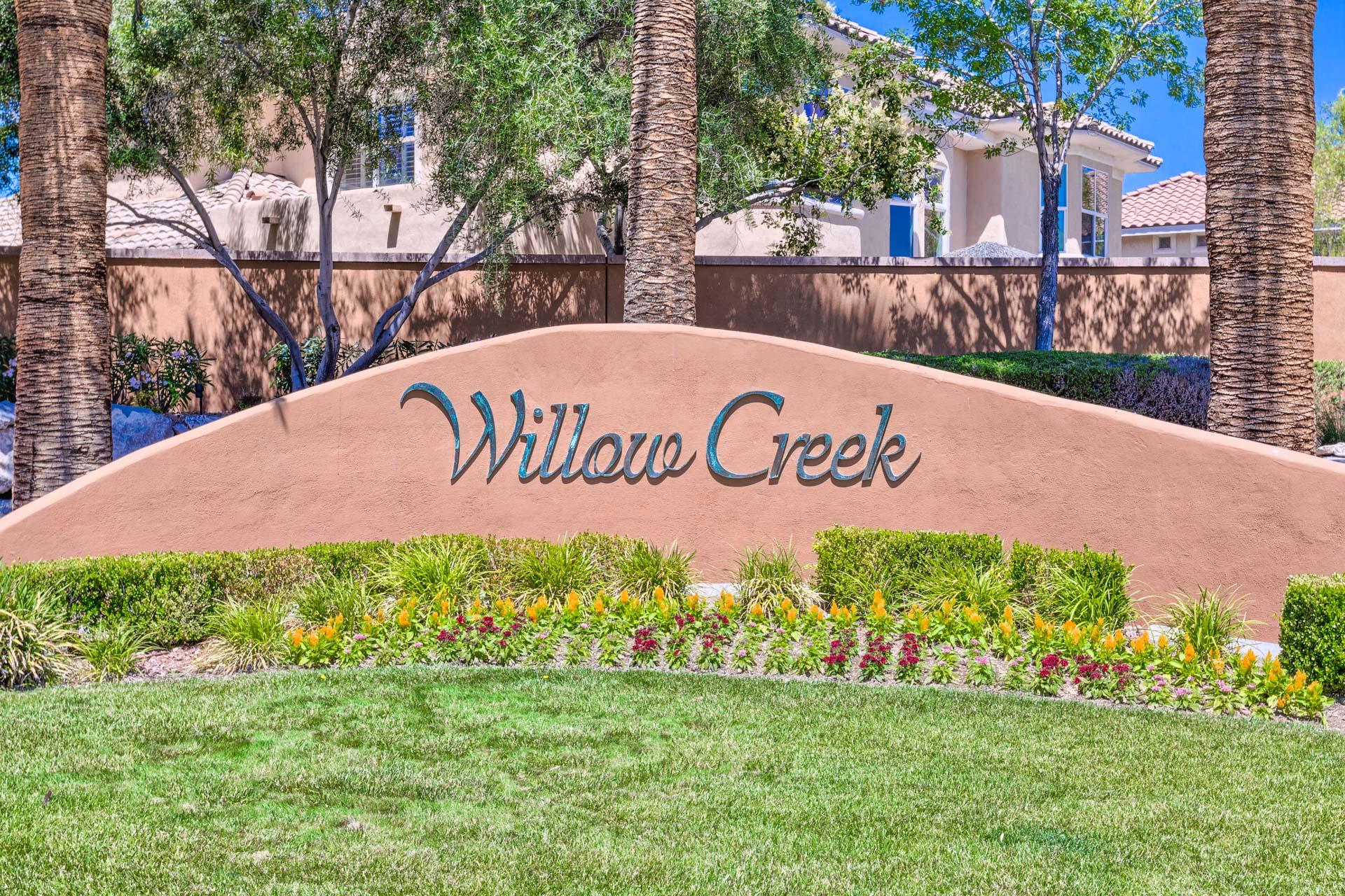 willow creek las vegas homes for sale