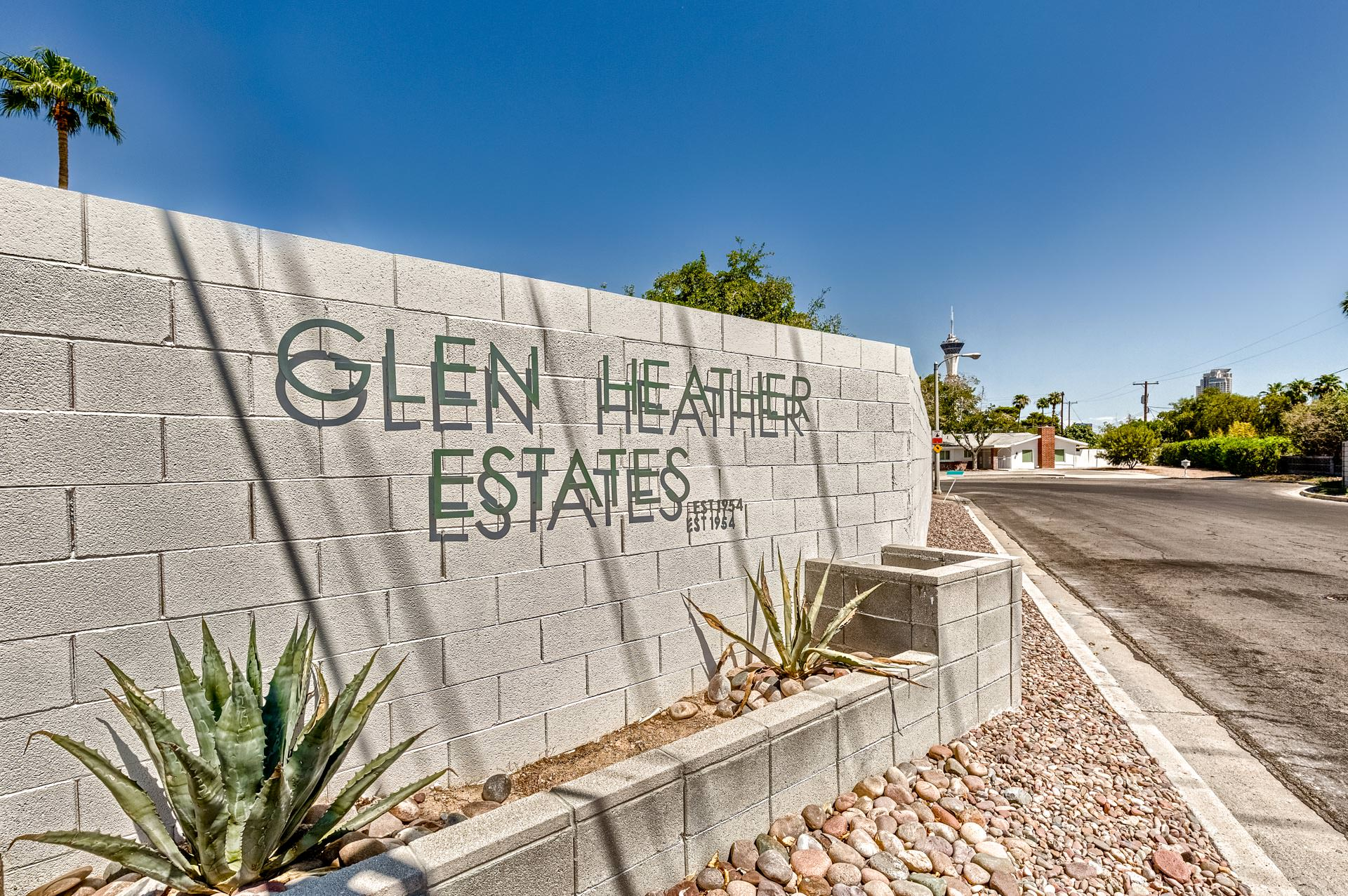 Glen Heather Estates Las Vegas Homes for Sale