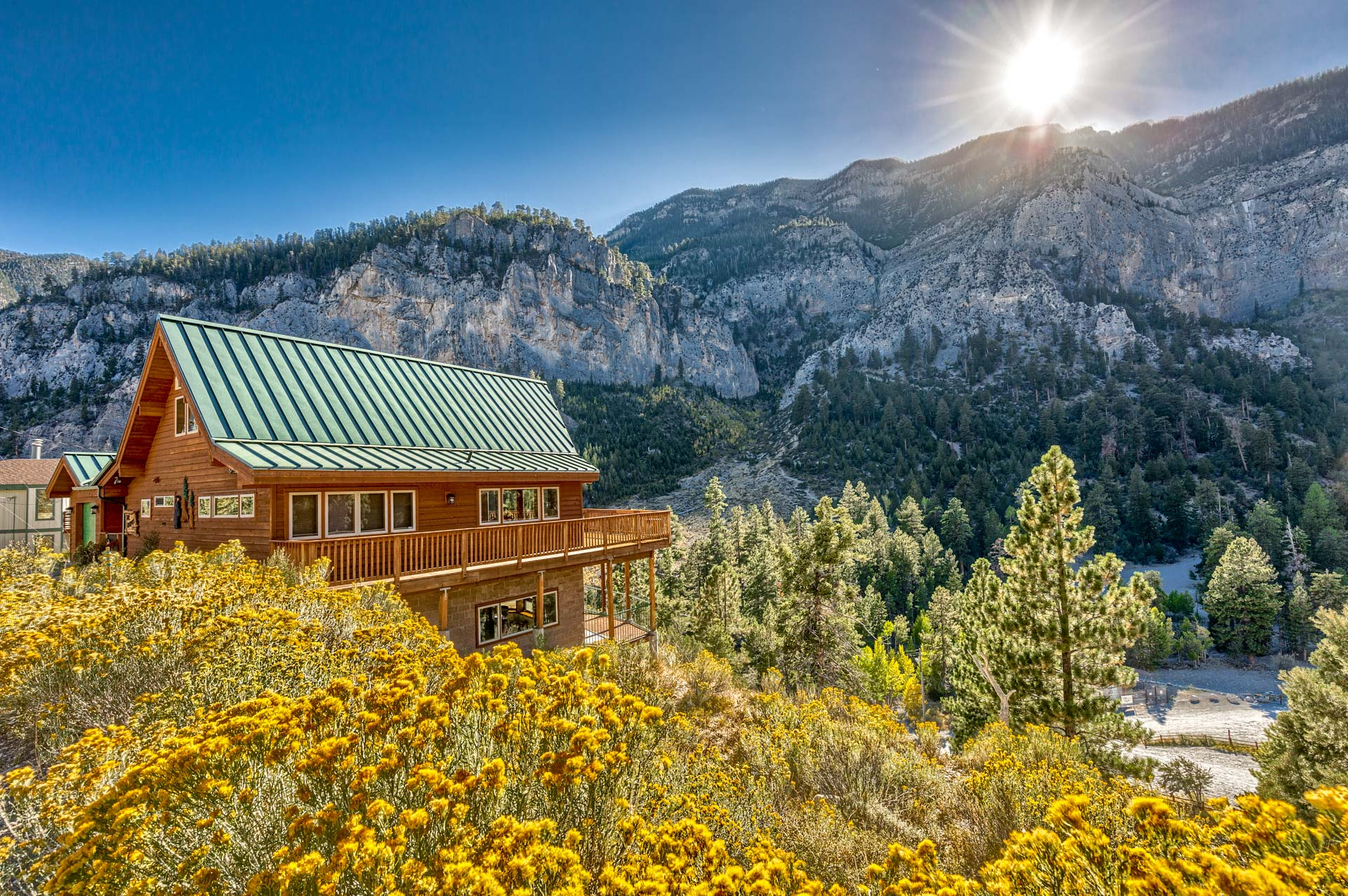 Mt charleston nevada homes for sale for Cabin rentals in nevada