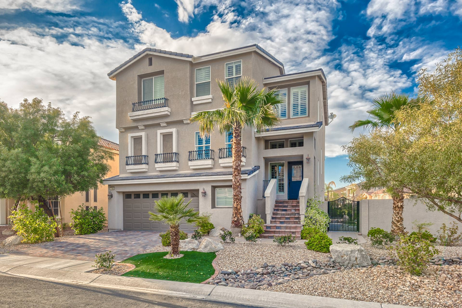 Million dollar homes in las vegas for sale up to 1m for Henderson house