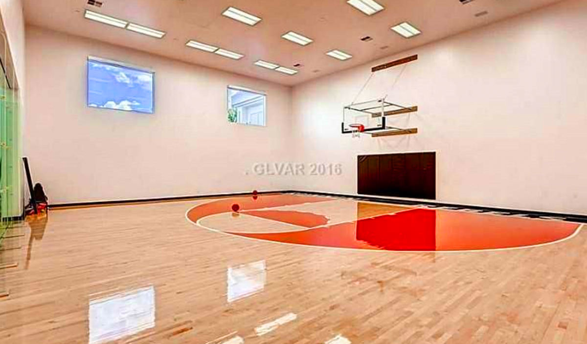 Top 5 Las Vegas Homes With Indoor Courts Luxury Homes