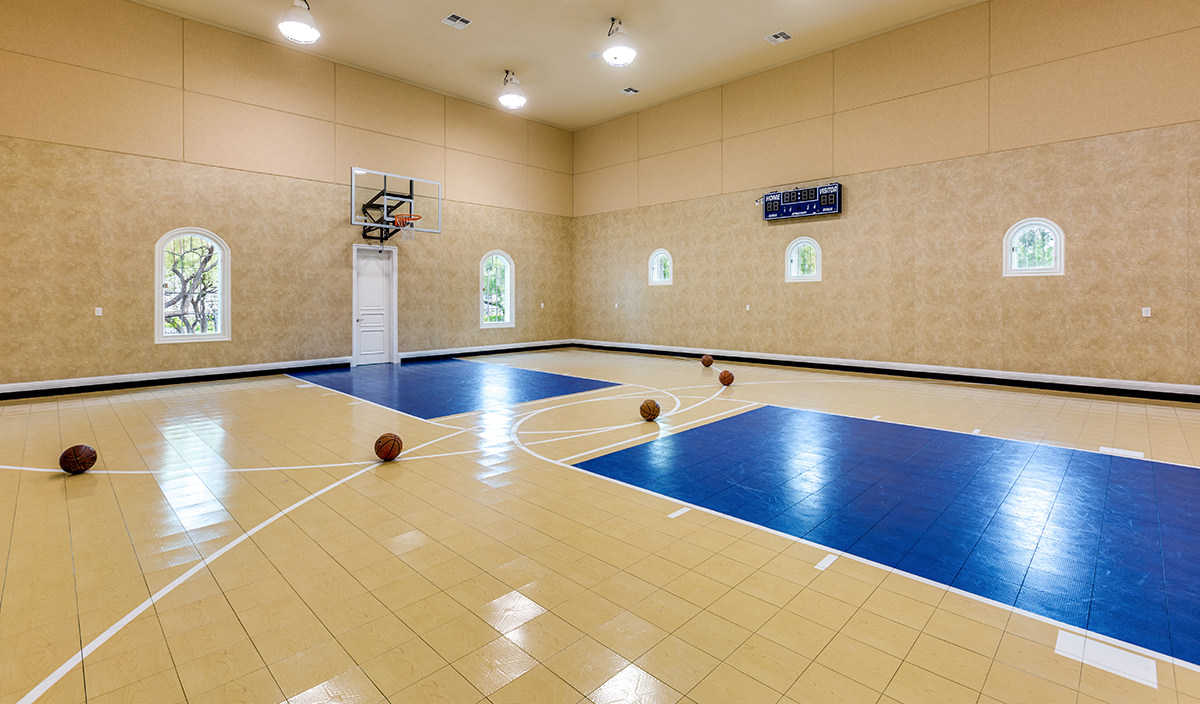 Top 5 Las Vegas Homes With Indoor Courts - Luxury Homes Las Vegas