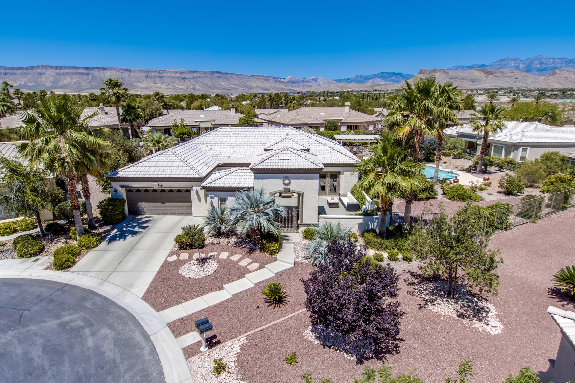 million dollar homes in las vegas for sale