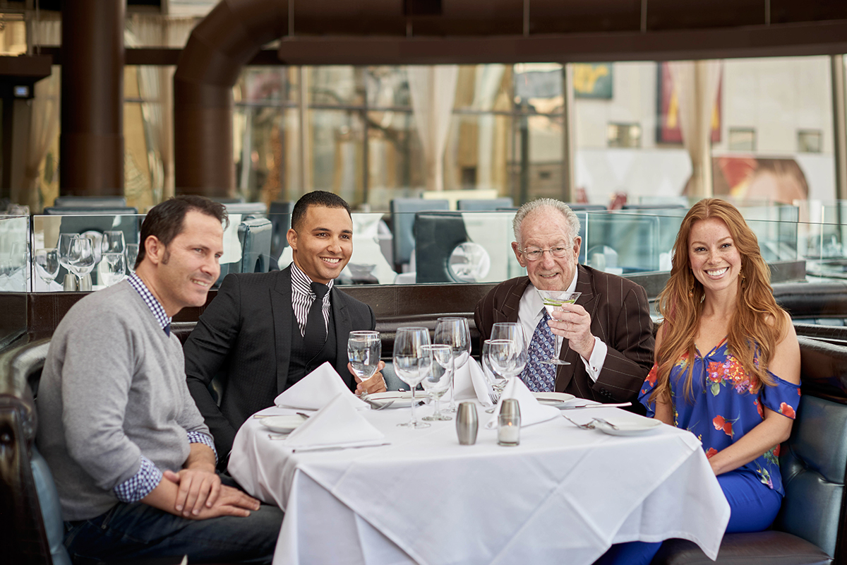 Oscar Goodman - Oscar's Steakhouse