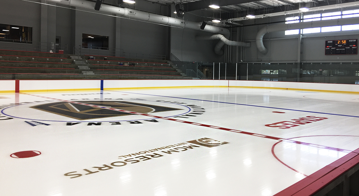 Vegas Golden Knights Practice Facility