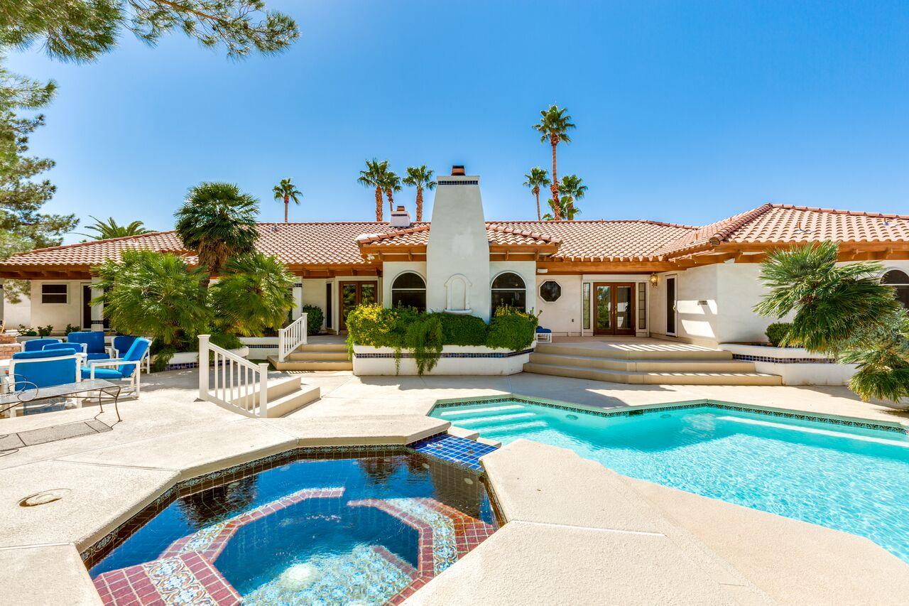 Las Vegas Luxury Homes 3370 Red Rock Street