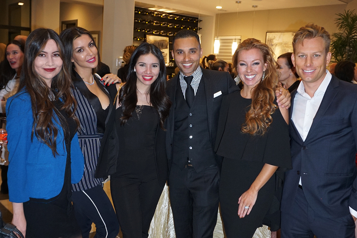 Vegas Gives Event - Kamran Zand and the LEI team