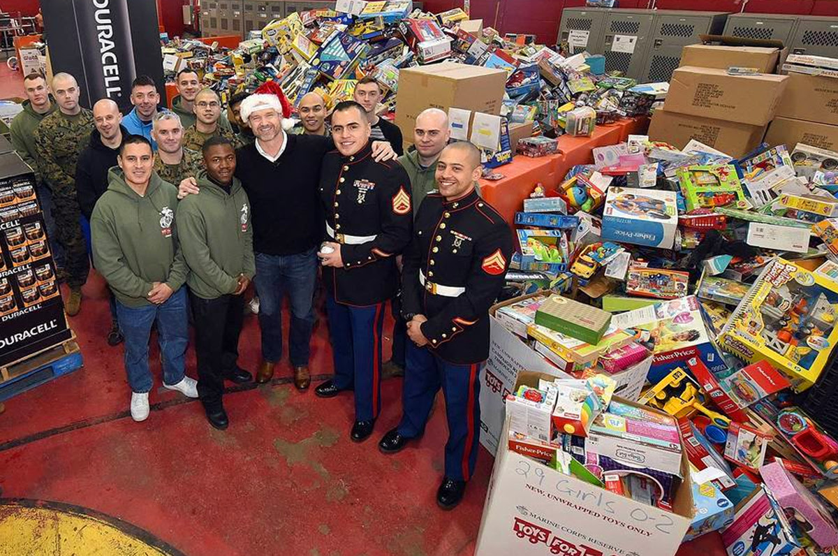 Toys for Tots Dropoff