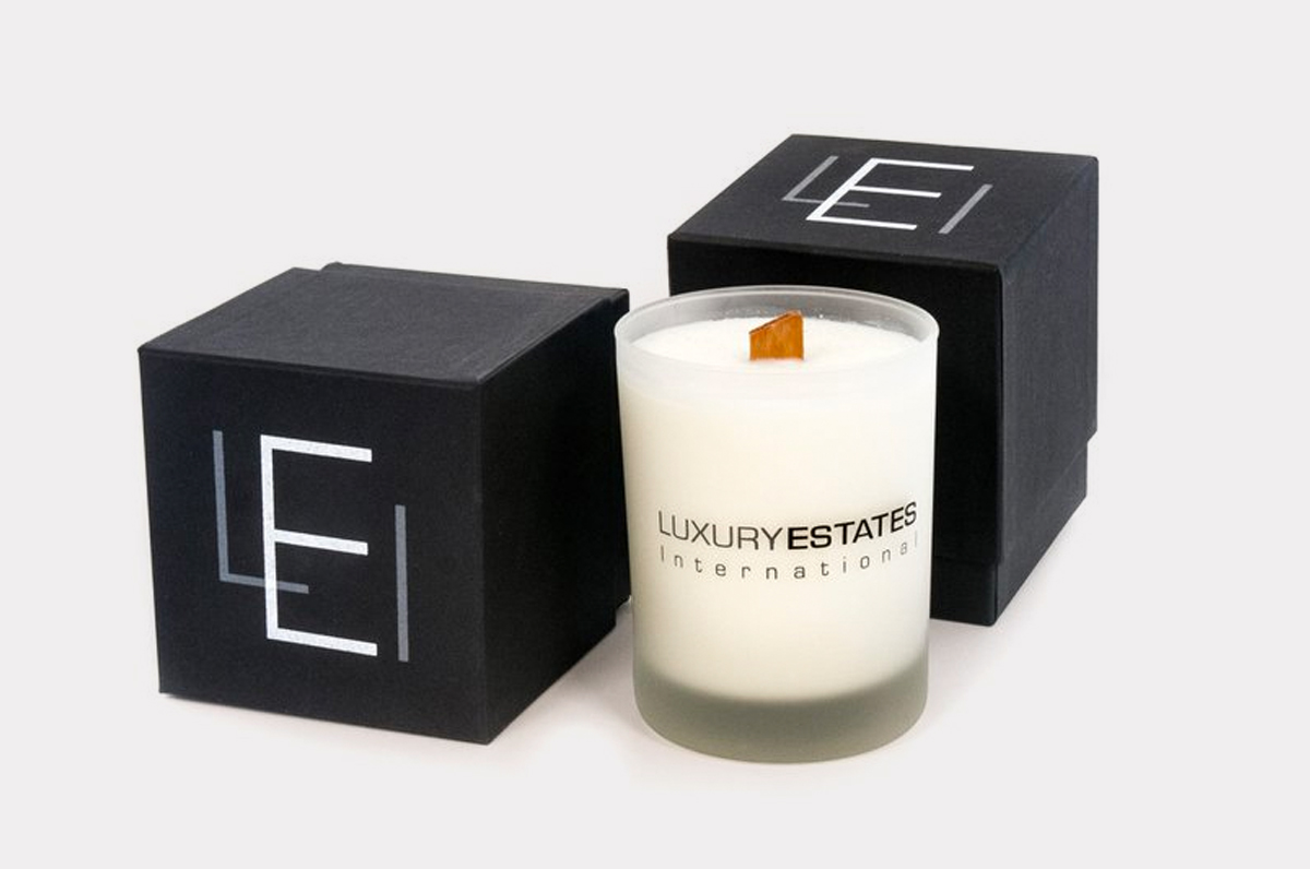 Give a loved one an LEI branded scented candle