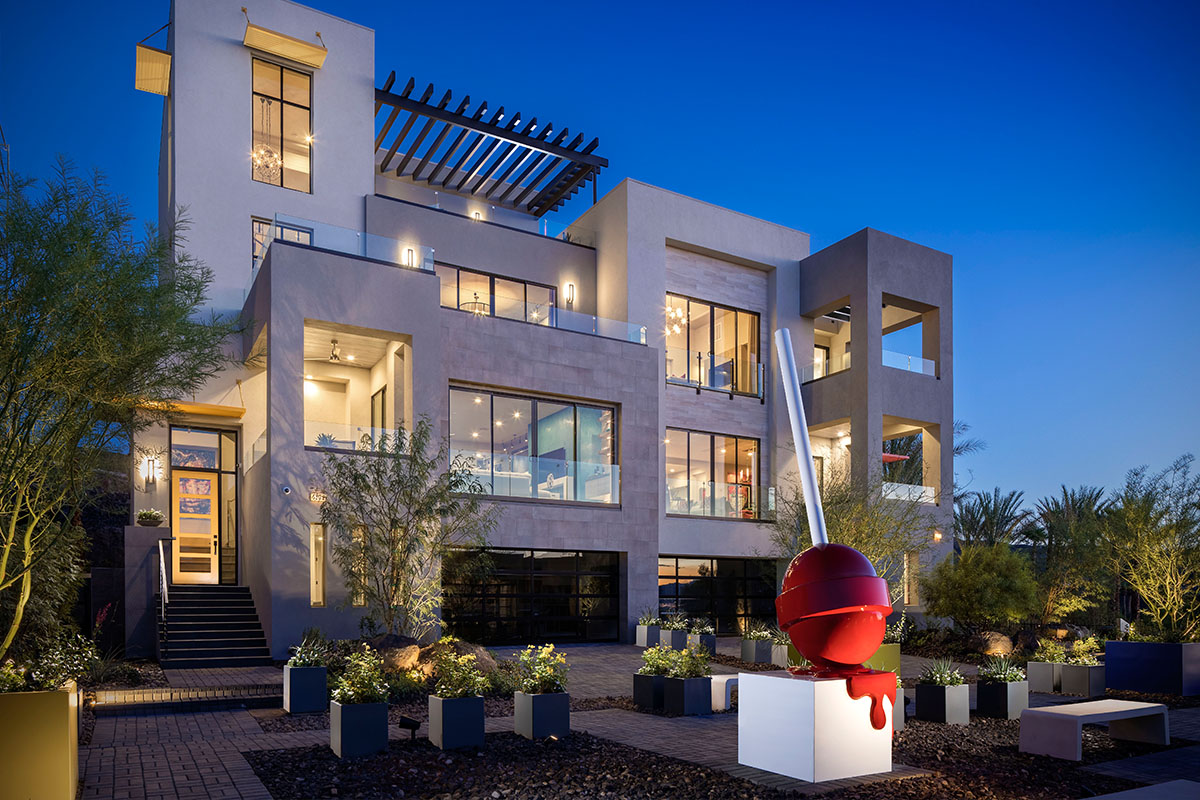 Vu Exterior by Christopher Homes