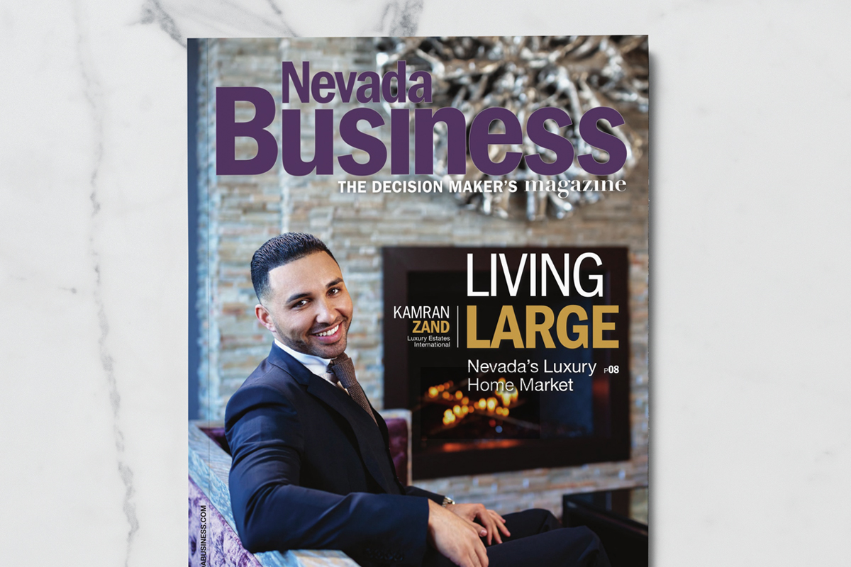 Nevada Business Magazine January Edition