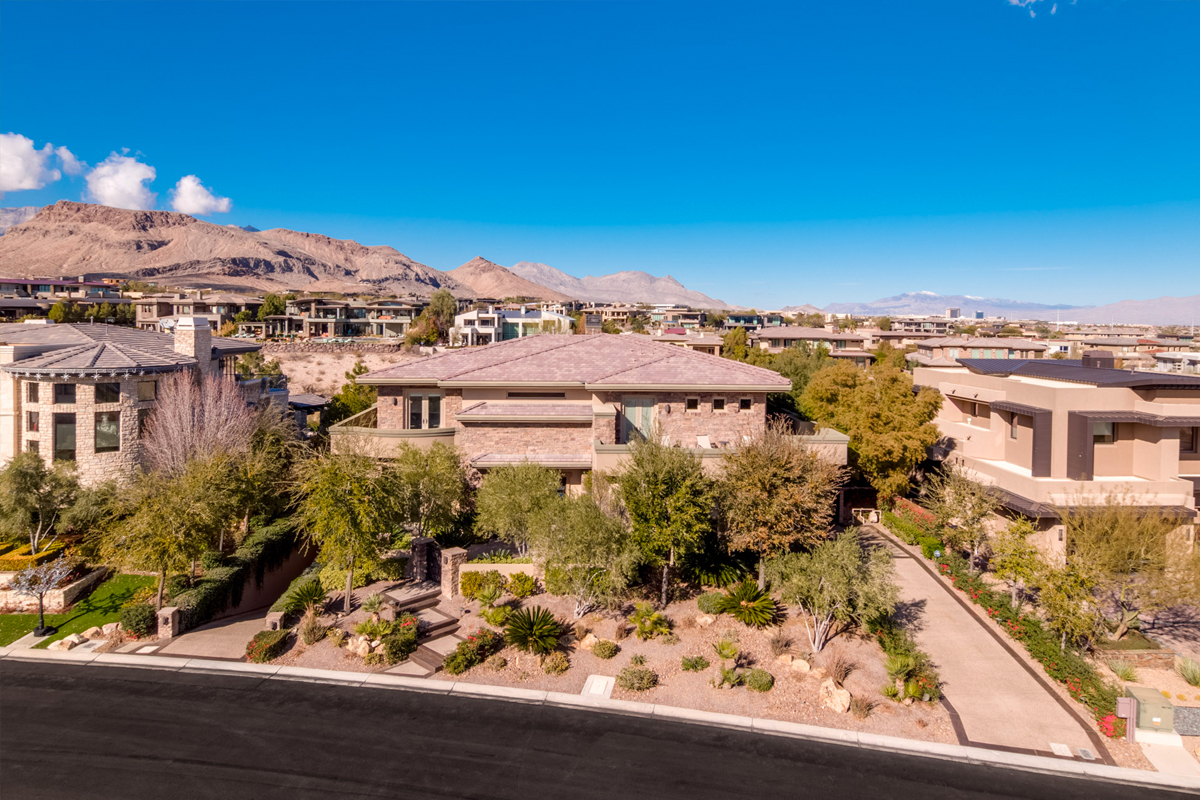 the ridges luxury home for sale in las vegas