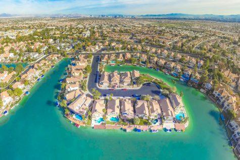 Las Vegas Lake Front Views Home Water
